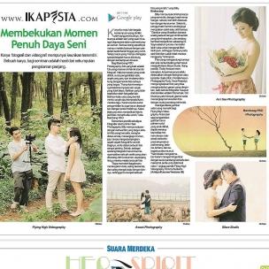 Ikapesta News with Suara merdeka. Article : Photo Video Suara merdeka , 14 Mei 2017  @asean_photography @asiseephotography @flyinghighvideo