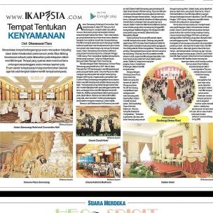 Ikapesta News with Suara merdeka. Article : Venue Suara merdeka , 28 Mei 2017  @astonhotelsemarang