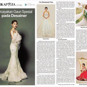 Percayakan Gaun Spesial pada Desainer