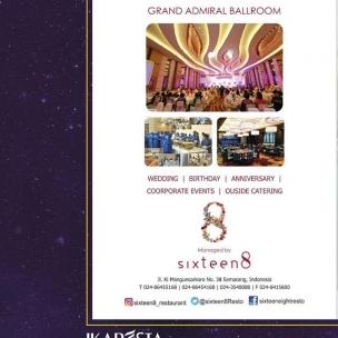 IKAPESTA Vendor . . Bidang : Catering @sixteen8_restaurant . . More information about IKAPESTA Vendor,download IKAPESTA App at Play Store Or visit www.ikapesta.com