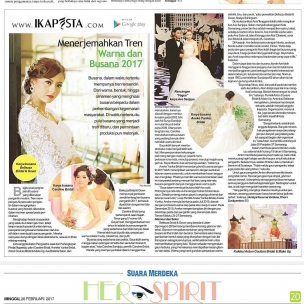 Ikapesta News available at Suara Merdeka every Sunday. Everything about your party.. Dont miss it !!! @suara_merdeka @ikapesta  Visit : www.ikapesta.com  Available at google play. (More update about ikapesta : Instal to your android )  @annekeyunika @avebridal_boutique @antonbridal_semarang @bellezza_bridal_gown  #260217