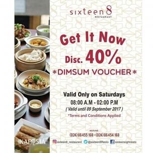 Vendor Service IKAPESTA 2017 . . Bidang : Catering @sixteen8_restaurant . . Ikapesta available at google playstore Or visit www.ikapesta.com