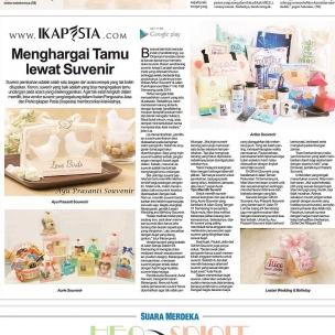 Ikapesta News with Suara merdeka. Article : Souvenir Suara merdeka , 30 April 2017  @artluz