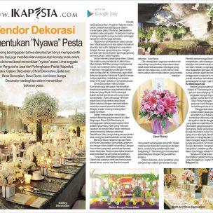 """Vendor Dekorasi Menentukan """"Nyawa"""" Pesta"""