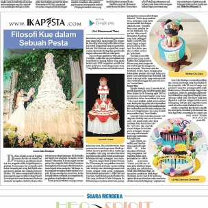 Ikapesta News with Suara merdeka. Article : Cake Suara merdeka , 11 Juni 2017  @laura_raharja @motherchucake @laurents_cake @lewijichocolate