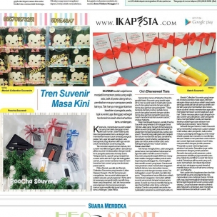 Ikapesta News with Suara merdeka. Article : Souvenir Suara merdeka , 6 Agustus 2017