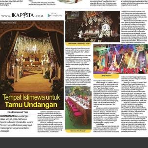 Ikapesta News with Suara merdeka. Article : Venue Suara merdeka , 20 Agustus 2017  @gumayatowerhotel @hoteloaktreesmg @newprpp_semarang @horisonsemarang