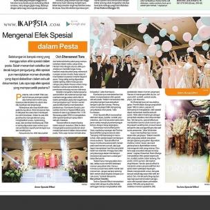 Ikapesta News with Suara merdeka. Article : Special effect Suara merdeka , 1 Oktober 2017  @balonbunga @technolighting  Untuk detail para vendor bisa lihat diwebsite : www.ikapesta.com Atau instal aplikasi ikapesta di playstore ( Android