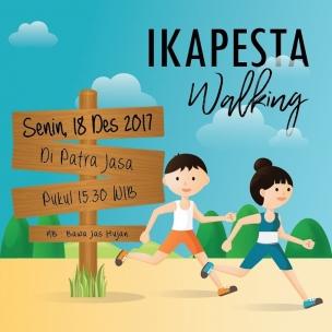 Jangan lewatkan jalan jalan plus kumpul kumpul vendor ikapesta! Hari : Senin, 18 des 2017 Jam : 15.30 Lokasi : Patra Jasa . Nb : jangan lupa bawa jas hujan#ikapesta