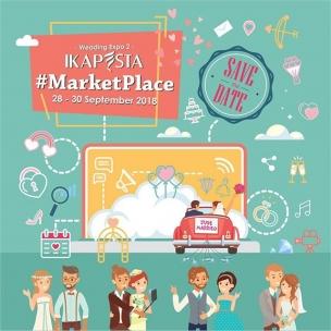 IKAPESTA Market Place adalah event 3 hari untuk membantu calon pengantin memenuhi segala kebutuhannya di hari istimewa. Hadir dengan konsep baru dan lengkap, tradisional hingga internasional. Perpaduan kultur barat dan timur akan tersedia, semuanya untuk kesuksesan hari istimewa yang dinantikan.  Ikapesta Market Place akan berlangsung dari 28 – 30 September 2018. Lebih dari 120 vendor pernikahan di Jawa Tengah akan berpartisipasi di IKAPESTA Market Place. . . Pastikan Anda tidak melewatkan kesempatan kali ini, karena Ikapesta Market Place akan hadir dengan konsep yang baru , segar dan berbeda