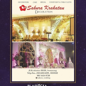 IKAPESTA Vendor . . Bidang : Decoration & Florist @sakura_wedding . . More information about IKAPESTA Vendor,download IKAPESTA App at Play Store Or visit www.ikapesta.com