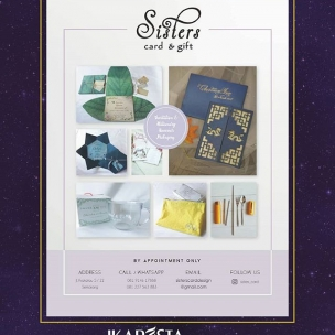 IKAPESTA Vendor . . Bidang : Kartu Undangan @sisters_card . . More information about IKAPESTA Vendor,download IKAPESTA App at Play Store Or visit www.ikapesta.com