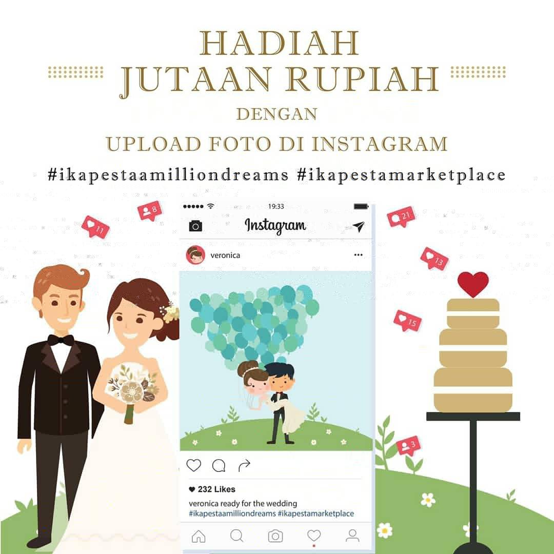 hadiah jutaan rupiah dengan upload foto di instagram