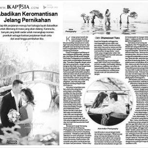 Abadikan Keromantisan Jelang Pernikahan