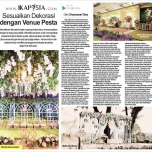 Sesuaikan Dekorasi dengan Venue Pesta