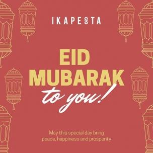 Selamat Hari Raya Idul Fitri 1 Syawal 1441 H bagi teman-teman yang merayakannya. Mohon maaf lahir dan batin